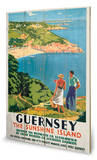 Guernsey Panneau en bois