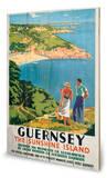 Guernsey Panneau en bois