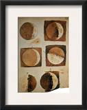 Galileo: Moon Framed Giclee Print by Galileo Galilei