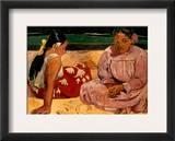 Gauguin: Tahiti Women, 1891 Framed Giclee Print by Paul Gauguin