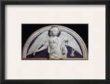 St. Michael The Archangel Framed Giclee Print by Andrea Della Robbia