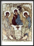 Russian Icons: The Trinity Posters by Andrei Rublev