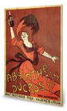 Absinthe Ducros Wood Sign