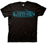 The Big Bang Theory - Bazinga Tron Type T-Shirt