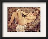 Valadon: Nude, 1928 Framed Giclee Print by Suzanne Valadon