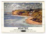 Whitby Znak drewniany