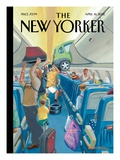 The New Yorker Cover - April 16, 2012 Regular Giclee Print by Bruce McCall
