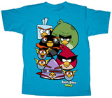 Youth: Angry Birds Space - Stares T-Shirt