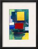 Hans Hofmann: The Door Framed Giclee Print by Hans Hofmann