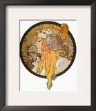 Mucha: Poster, C1900 Framed Giclee Print by Alphonse Mucha