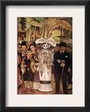 Rivera: Alameda Park Framed Giclee Print by Diego Rivera