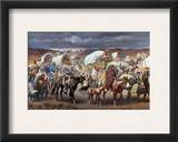 The Trail Of Tears, 1838 Framed Giclee Print by Robert Lindneux