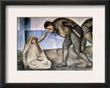 Orozco: Farewell, 1926 Framed Giclee Print by Jose Clemente Orozco