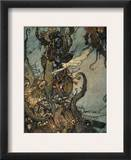 Andersen: Little Mermaid Framed Giclee Print by Edmund Dulac