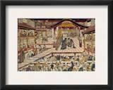 Japan: Kabuki Theater Framed Giclee Print by Okumura Masanobu