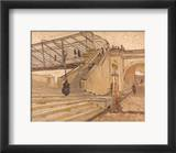 Van Gogh: Bridge, 1888 Kehystetty giclee-vedos tekijn Vincent van Gogh