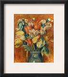 Renoir: Bouquet Of Tulips Framed Giclee Print by Pierre-Auguste Renoir