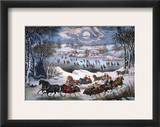 New York: Central Park Framed Giclee Print by Marc Chagall