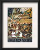 Rivera: Pre-Columbian Life Framed Giclee Print by Diego Rivera