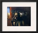 Salvador Dali: Le Reve Framed Giclee Print by Salvador Dalí