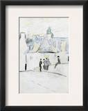 Gauguin: Pont-Aven Framed Giclee Print by Paul Gaugin