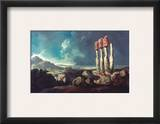 Cook: Easter Island, 1774 Framed Giclee Print by William Hodges