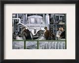 Diego Rivera: Detroit Framed Giclee Print by Diego Rivera