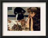 Bonnard: Breakfast, C1899 Framed Giclee Print by Pierre Bonnard