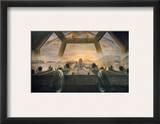 Dali: Last Supper, 1955 額入りジクレープリント : サルバドール・ダリ