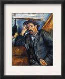 Cezanne: Pipe Smoker, 1900 Framed Giclee Print by Paul Cezanne