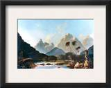 Cook: Tahiti, 1773 Framed Giclee Print by William Hodges