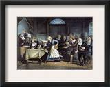 Witch Trial Framed Giclee Print by George Walker