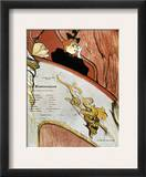 Toulouse-Lautrec, 1893 Framed Giclee Print by Henri Toulouse-Lautrec