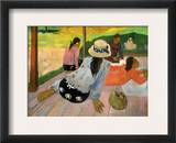 Gauguin: Siesta, 1891 Framed Giclee Print by Paul Gauguin