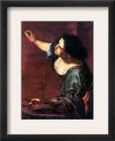 Artemisia Gentileschi Framed Giclee Print by Artemisia Gentileschi