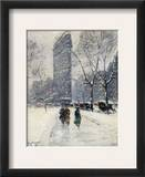 New York: Flatiron, 1919 Framed Giclee Print by Guy Wiggins