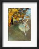 Degas: Star, 1876-77 Framed Giclee Print by Edgar Degas