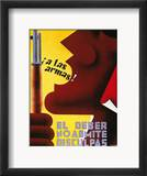 Spanish Civil War, 1937 Framed Giclee Print