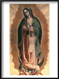 The Virgin Of Guadalupe Prints by Miguel Hidalgo