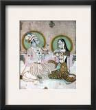 India: Couple Framed Giclee Print