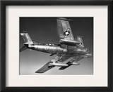 F-86 Jet Fighter Plane Framed Giclee Print