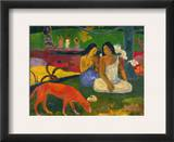 Gauguin: Arearea, 1892 Framed Giclee Print by Paul Gauguin
