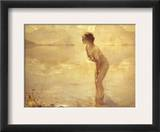 Chabas: September Morn Framed Giclee Print by Paul Chabas
