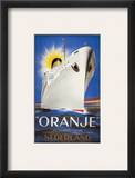 Dutch Travel Poster, 1939 Framed Giclee Print by Jean Walther