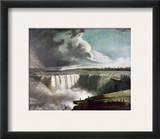 Morse: Niagara Falls, 1835 Framed Giclee Print by Samuel Finley Breese Morse