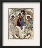 Russian Icons: The Trinity Framed Giclee Print by Andrei Rublev