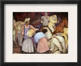Rivera: Mural, 1920S Framed Giclee Print by Diego Rivera