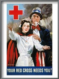 World War Ii: Red Cross Posters by James Montgomery Flagg