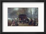 Maple Syrup, C1865 Framed Giclee Print by Eastman Johnson