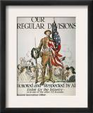 World War I: U.S. Army Framed Giclee Print by James Montgomery Flagg